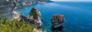 Kste von Bonifacio, Korsika, Frankreich